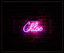 Chloe Neon Sign
